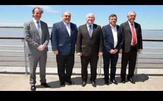 Lifschitz and governors of other five provinces promote the development of the Paraguay-Paraná waterway