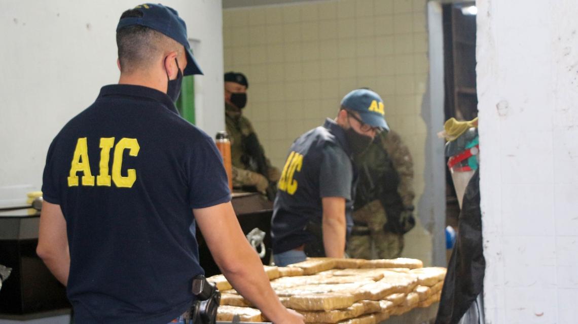 La provincia quemó más de mil kilos de marihuana y cocaína