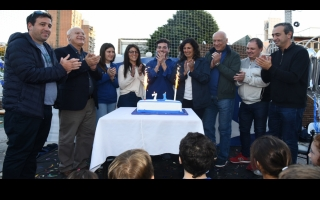In Rosario, Lifschitz participates in the celebration of Israel's Independence Day celebration