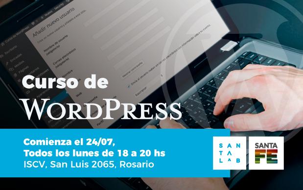 Gobierno de Santa Fe - Aprendé a crear tu propio sitio web en Wordpress